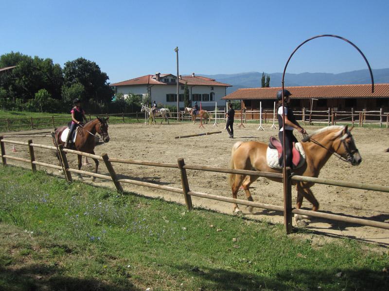 Lezioni equitazione pratovecchio